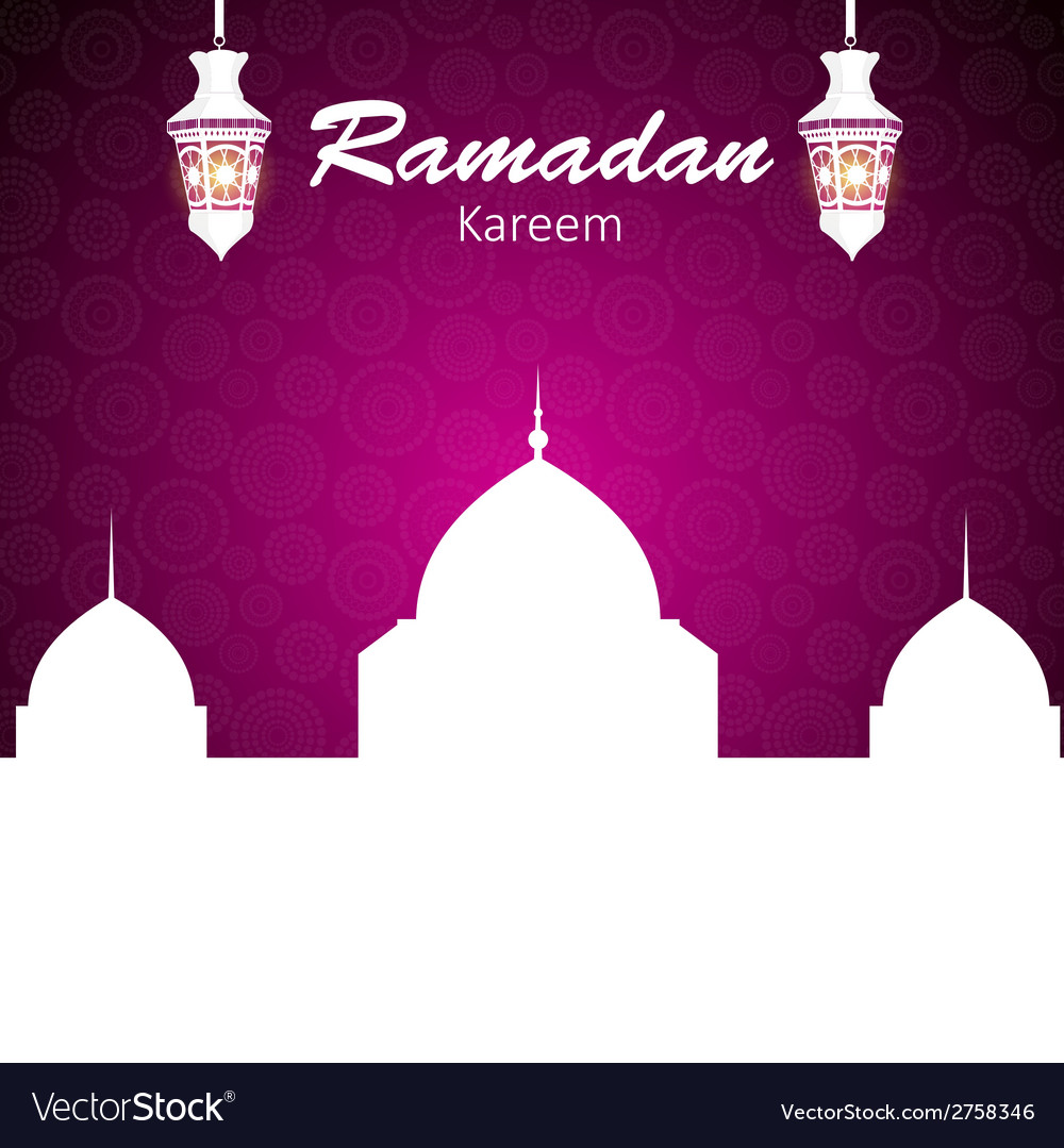 Background for muslim community festival vector | Price: 1 Credit (USD $1)