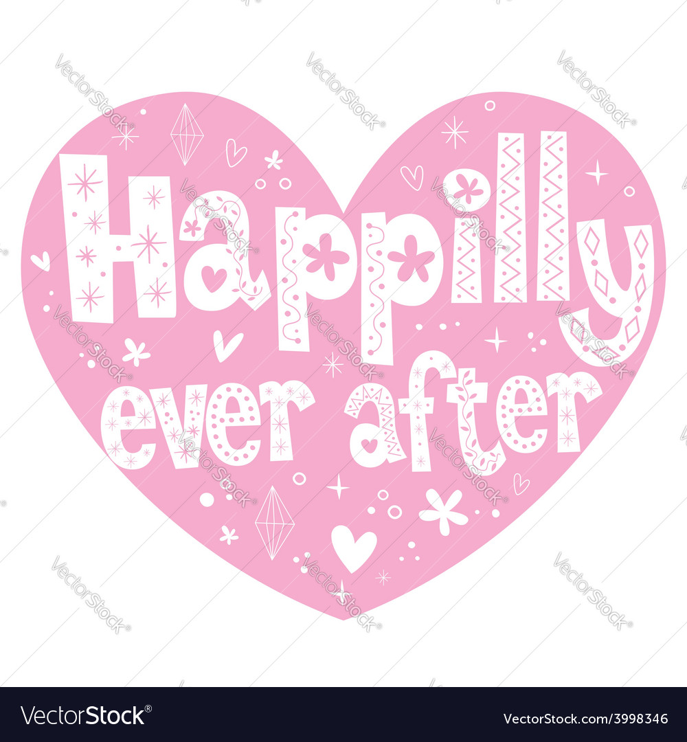 Happily ever after 2 vector | Price: 1 Credit (USD $1)