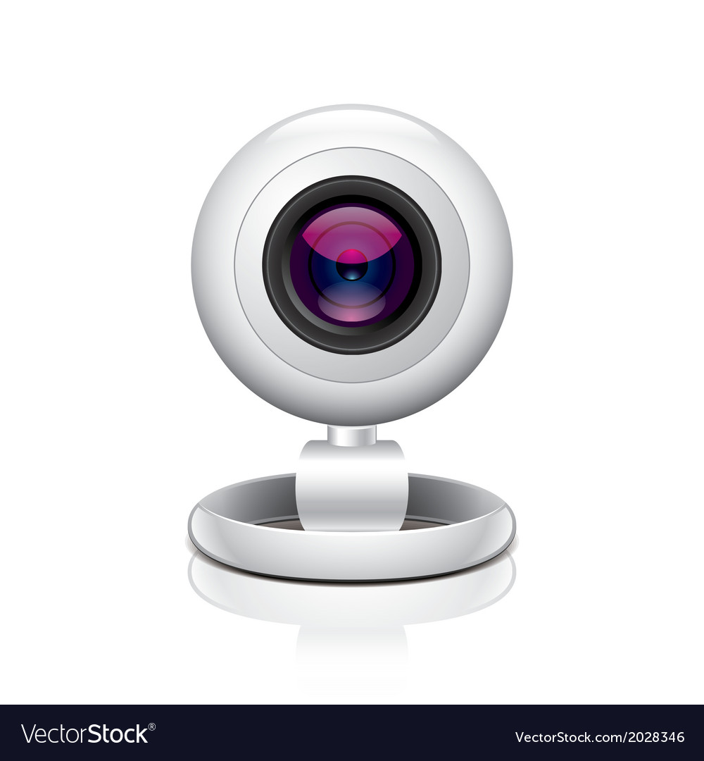 Object webcam vector | Price: 1 Credit (USD $1)