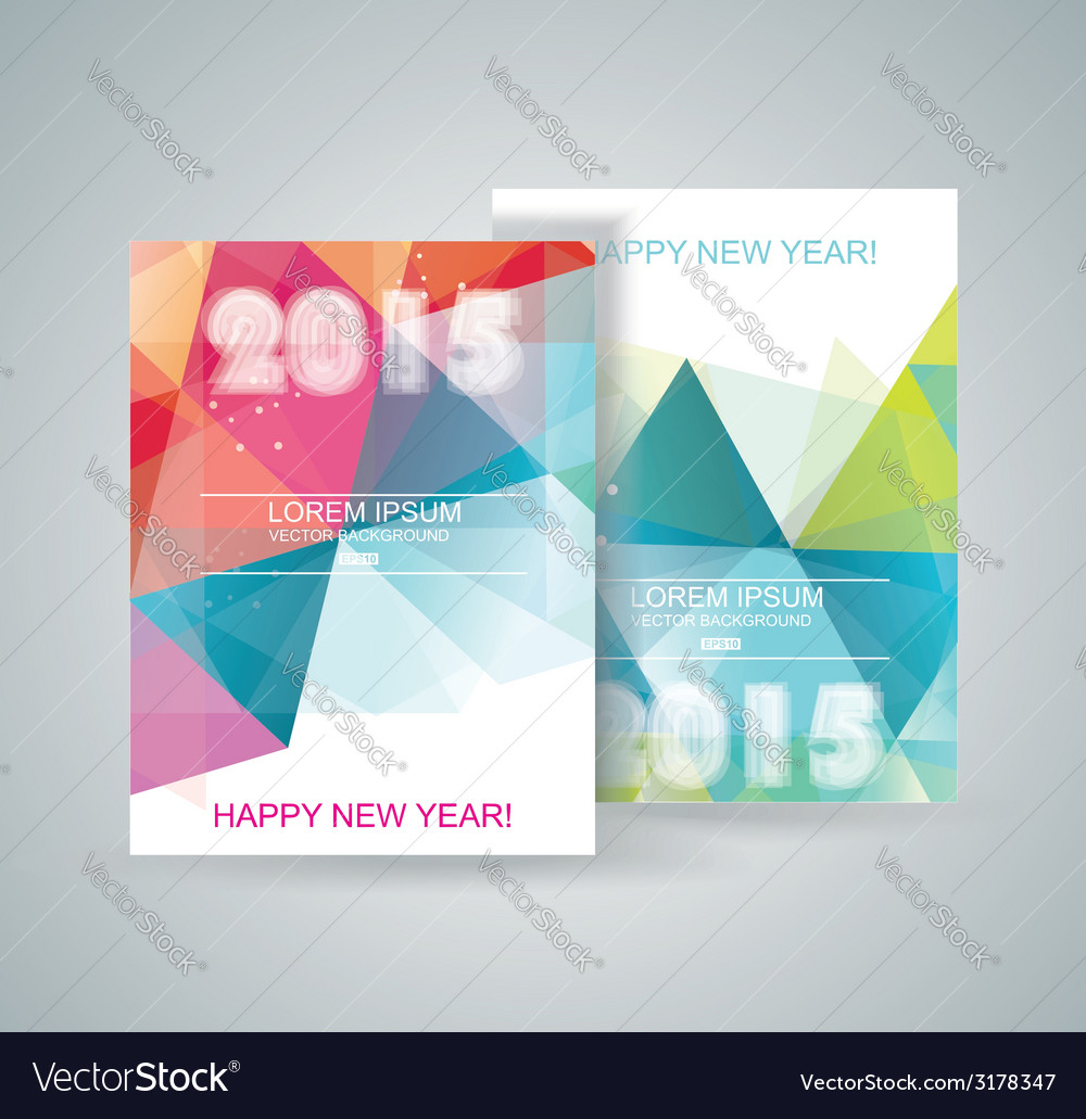 Merry christmas and happy new year design vector | Price: 1 Credit (USD $1)