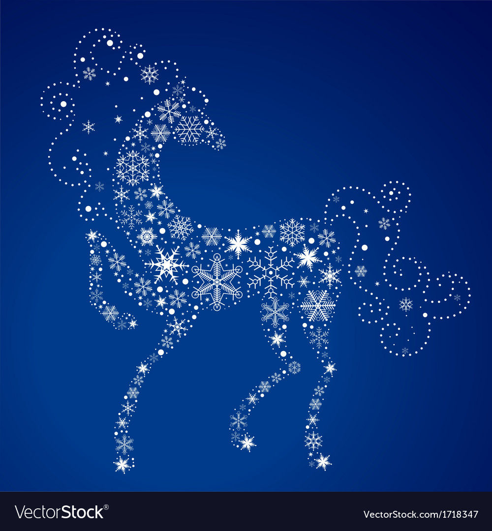 Year of the horse 2014 vector | Price: 1 Credit (USD $1)