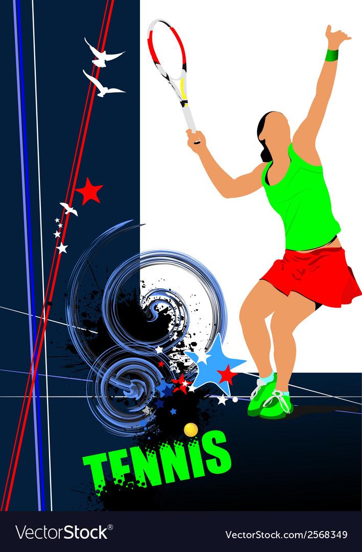 Poster tenn 001 vector | Price: 1 Credit (USD $1)