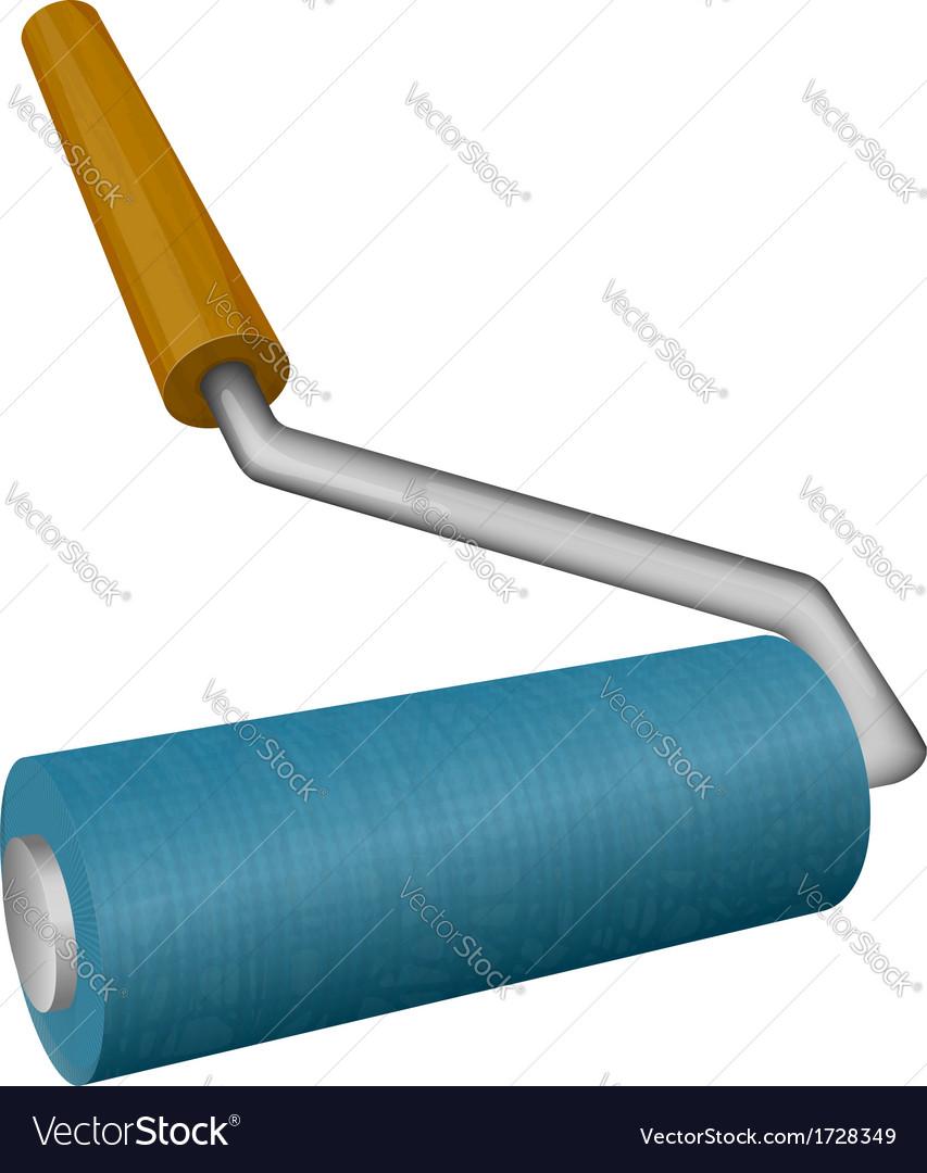 Roller brush vector | Price: 1 Credit (USD $1)