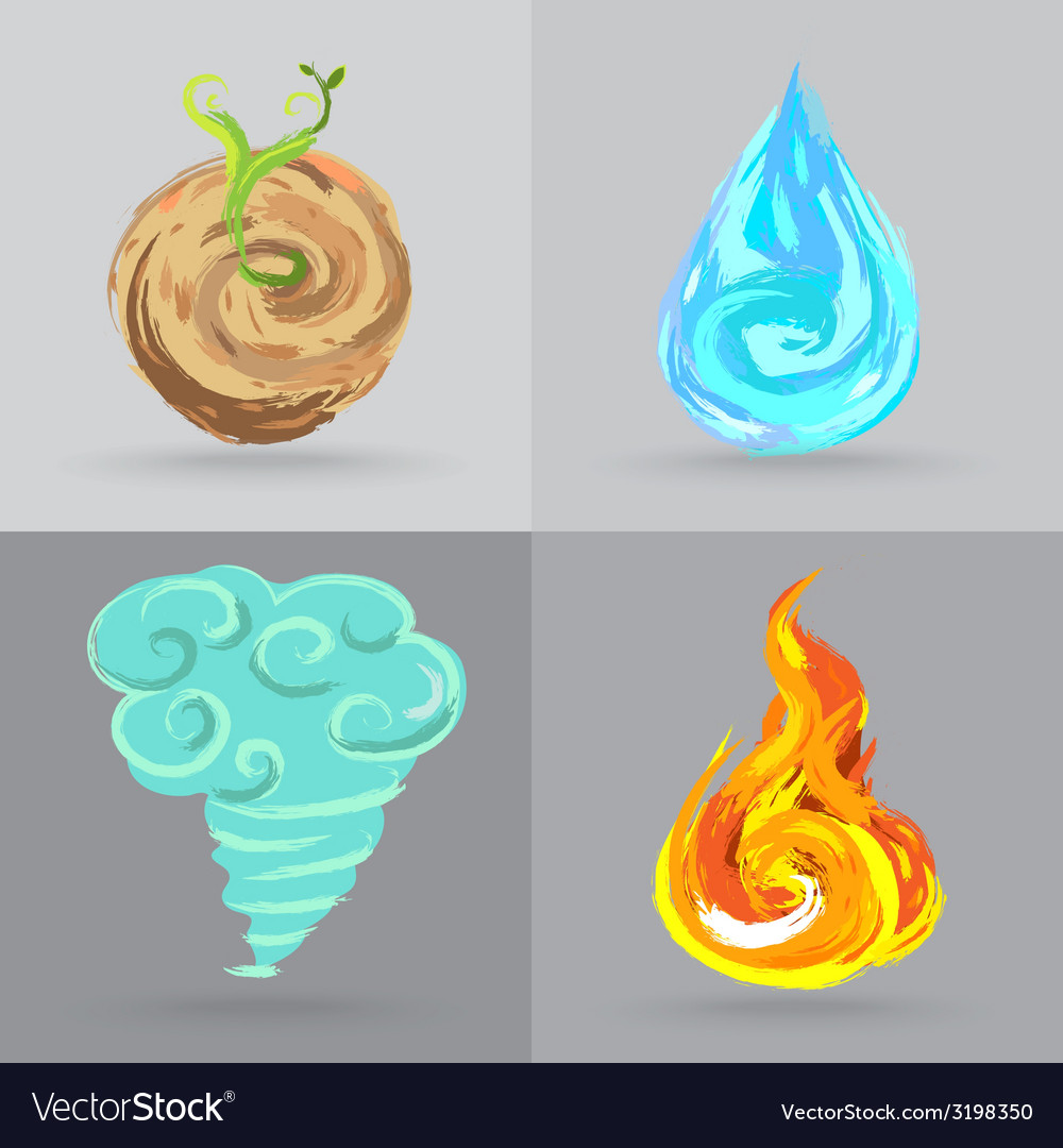 4elements vector | Price: 1 Credit (USD $1)