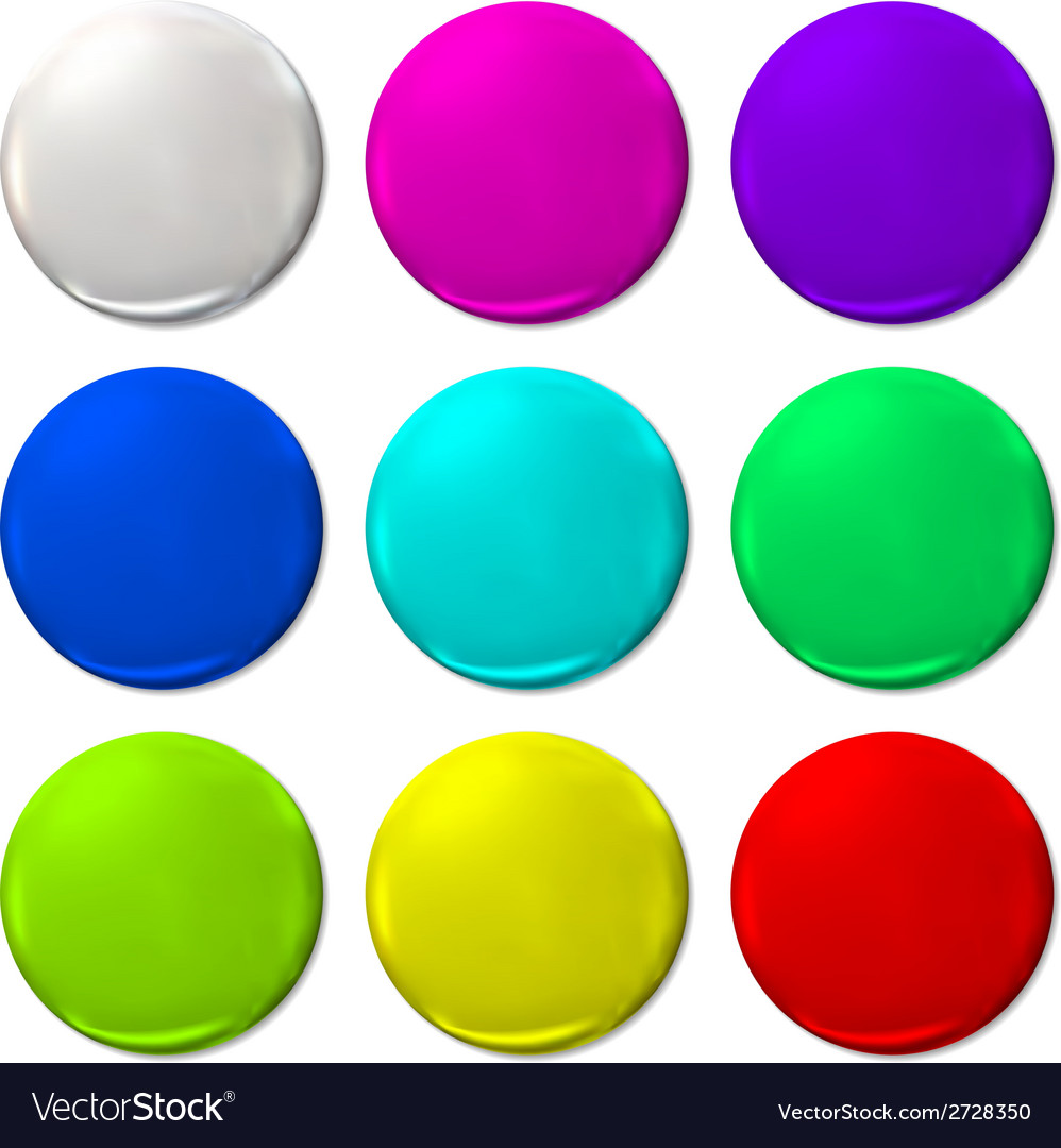 Ballon color fun balloon web icon vector | Price: 1 Credit (USD $1)