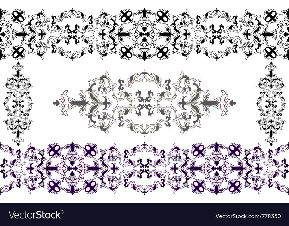 Baroque vector | Price: 1 Credit (USD $1)