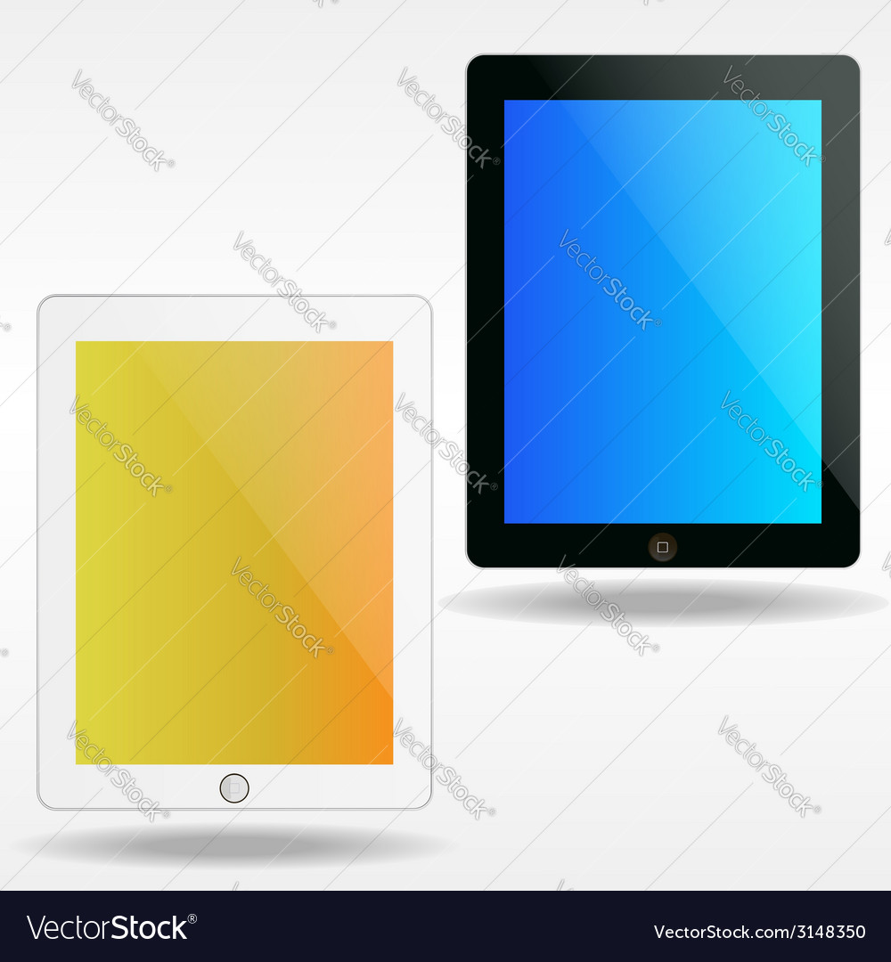 Ipads vector | Price: 1 Credit (USD $1)