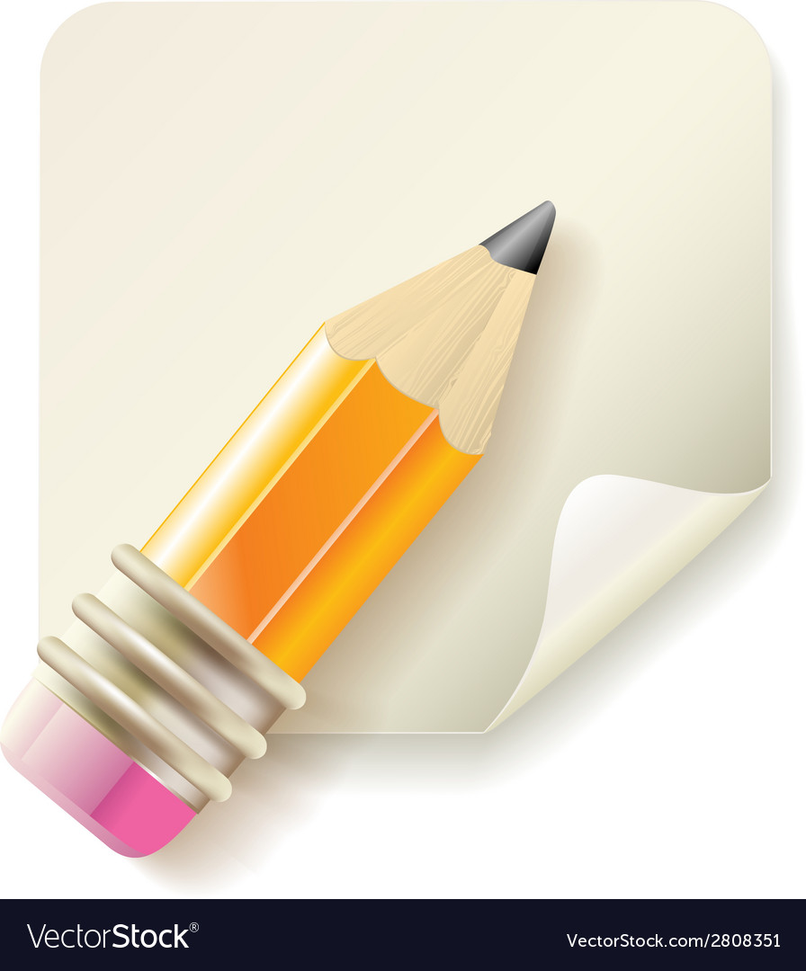 Pencil icon vector | Price: 1 Credit (USD $1)
