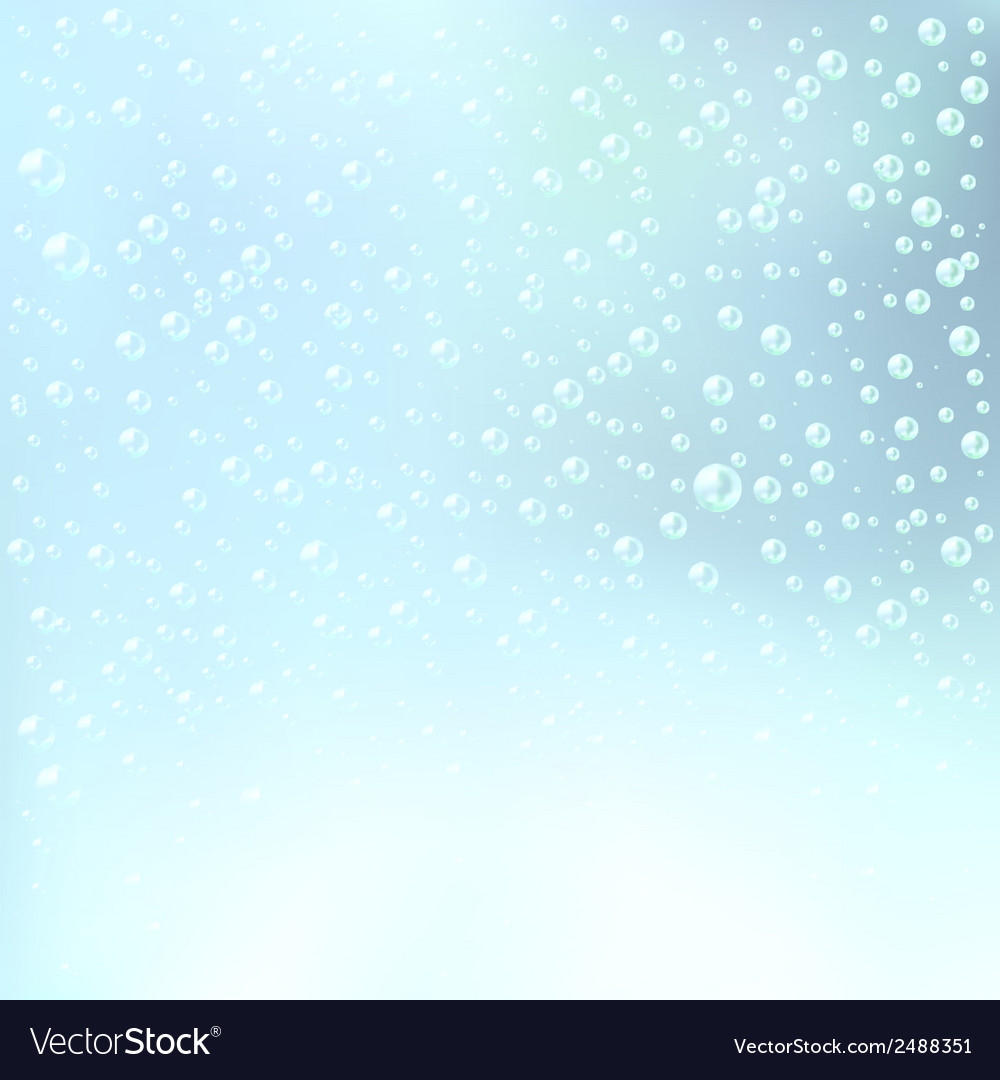 Water bubbles background vector   Price: 1 Credit (USD $1)