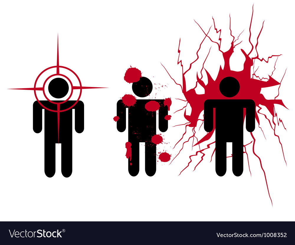 Human target vector | Price: 1 Credit (USD $1)