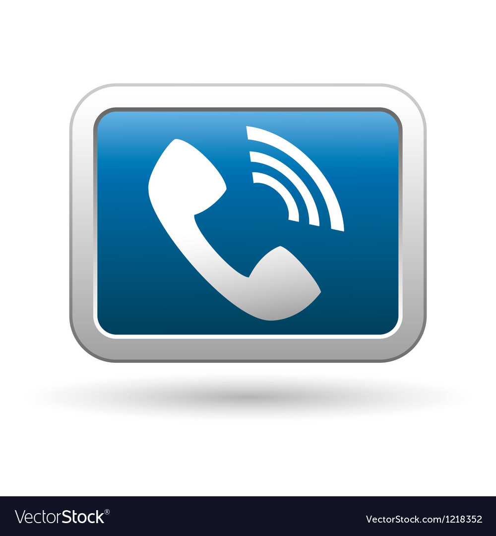 Telephone receiver icon vector | Price: 1 Credit (USD $1)