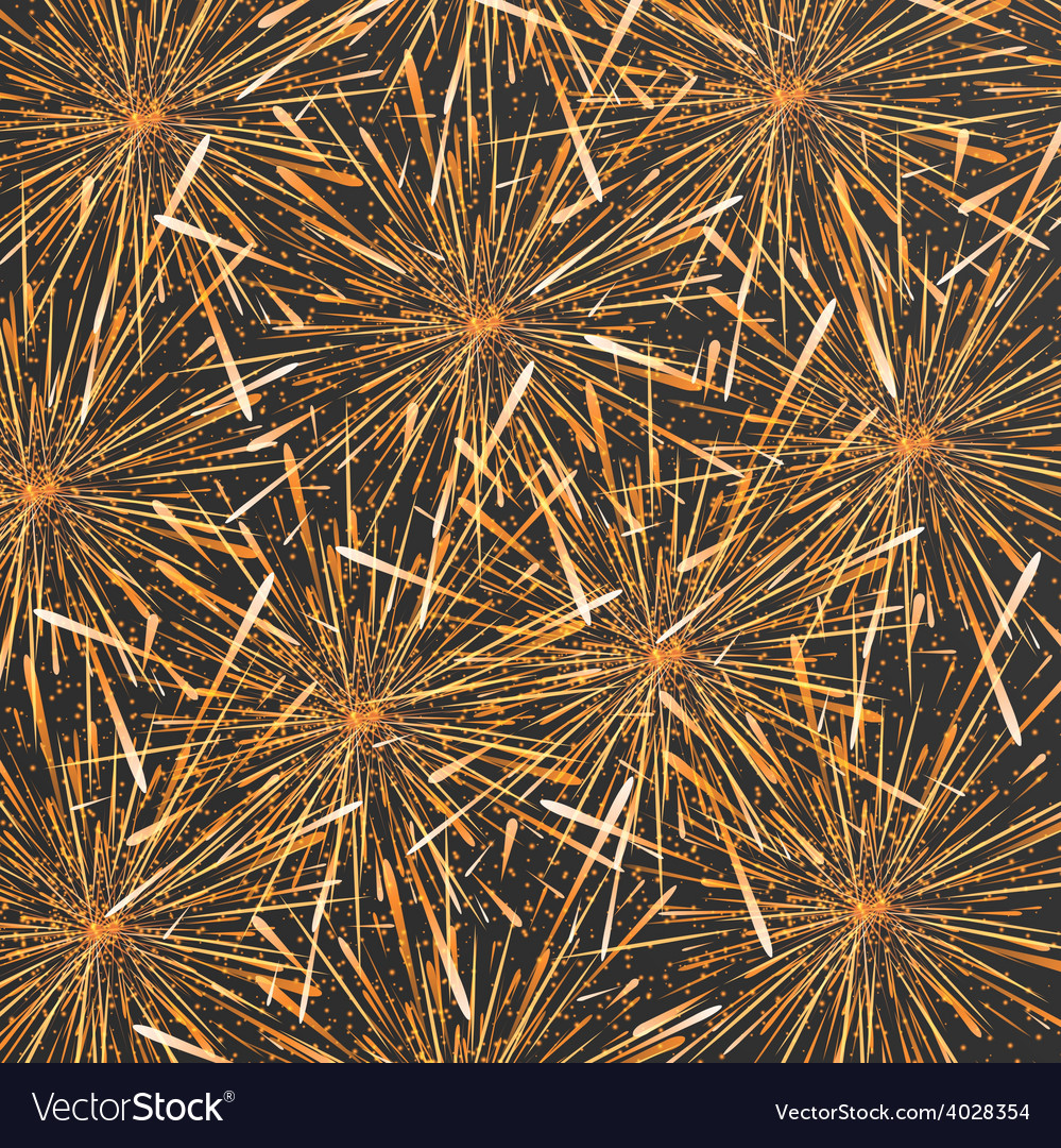 Modern fireworks background design vector | Price: 1 Credit (USD $1)