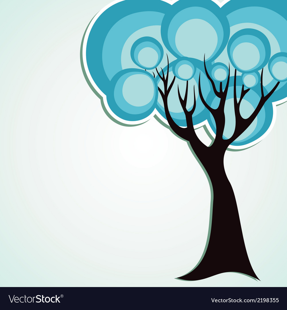 Creative tree vector | Price: 1 Credit (USD $1)