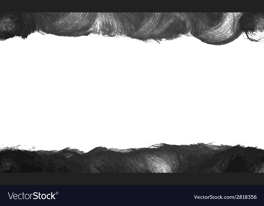 Black painted frame background vector | Price: 1 Credit (USD $1)