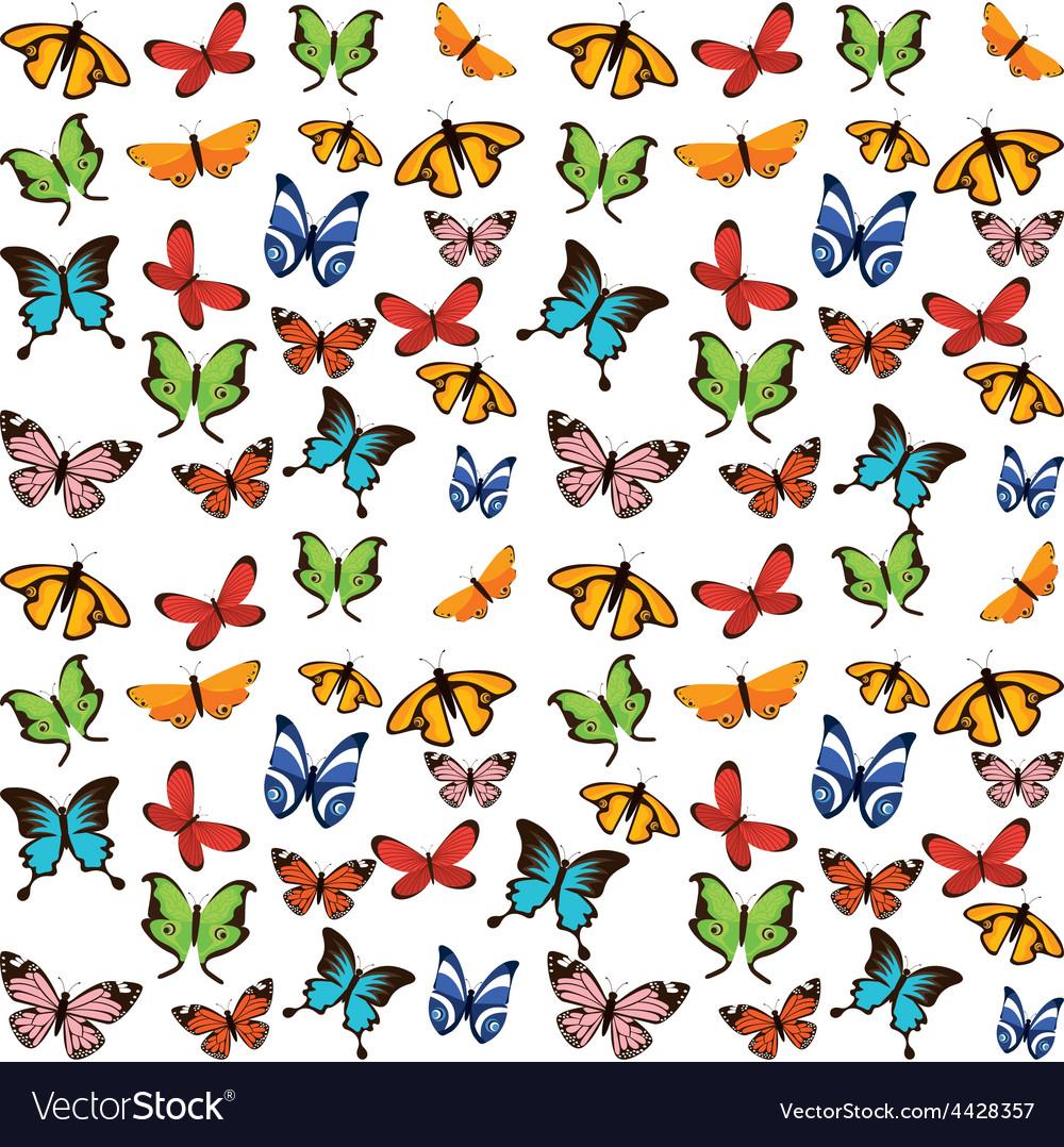 Butterflies flying vector   Price: 1 Credit (USD $1)