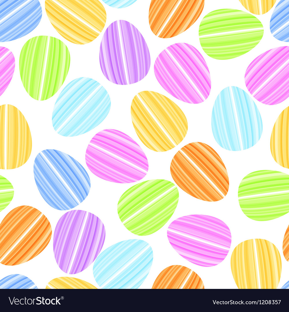 Easter egg in bright strip vector | Price: 1 Credit (USD $1)