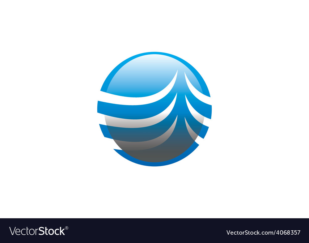 Globe sphere communication business logo vector | Price: 1 Credit (USD $1)