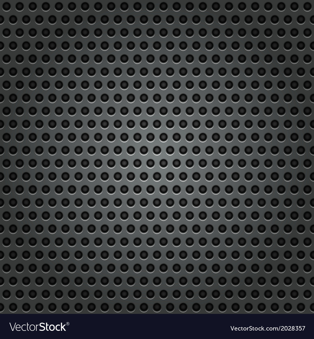 Metal background with holes vector | Price: 1 Credit (USD $1)