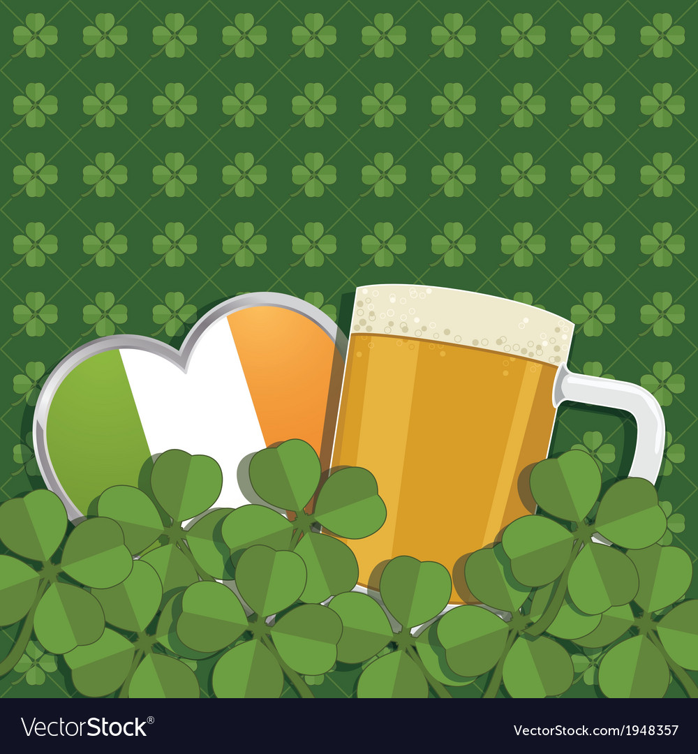 St patricks day decoration vector | Price: 1 Credit (USD $1)