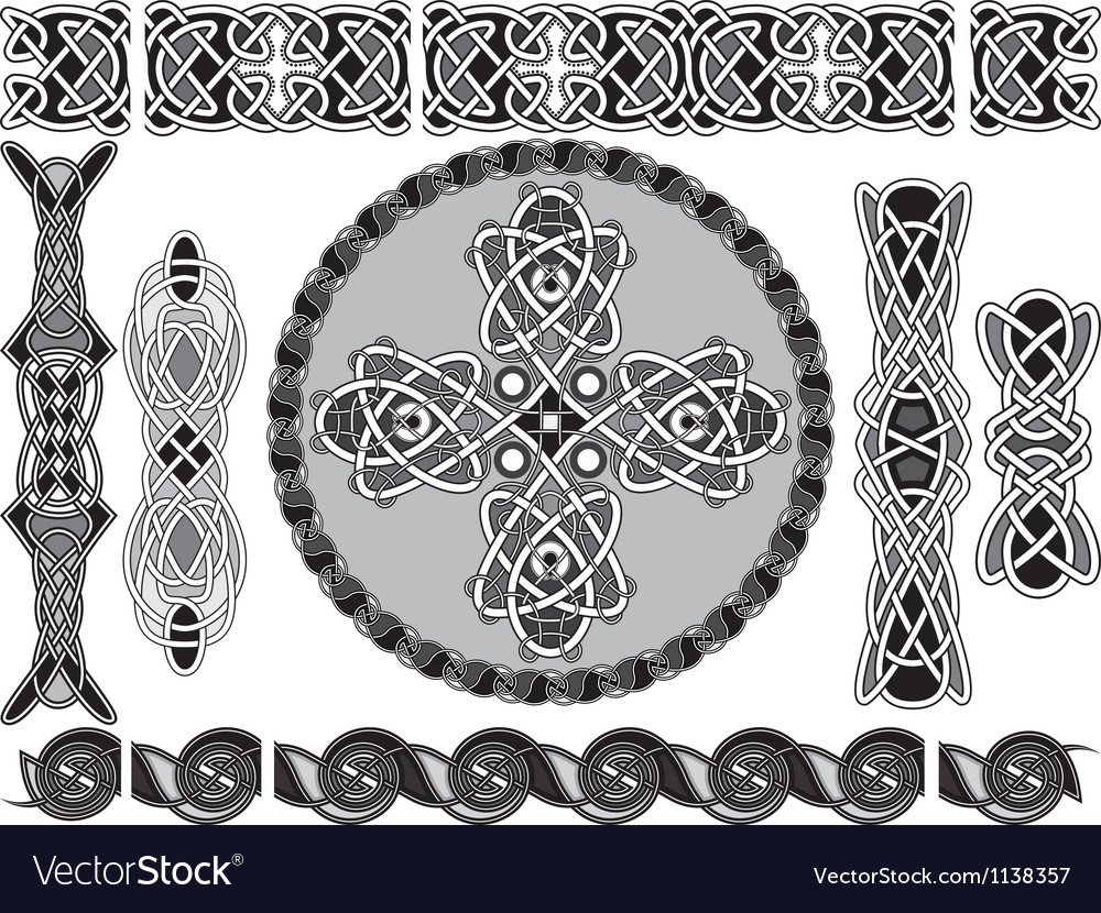 Traditional celtic style vector | Price: 1 Credit (USD $1)