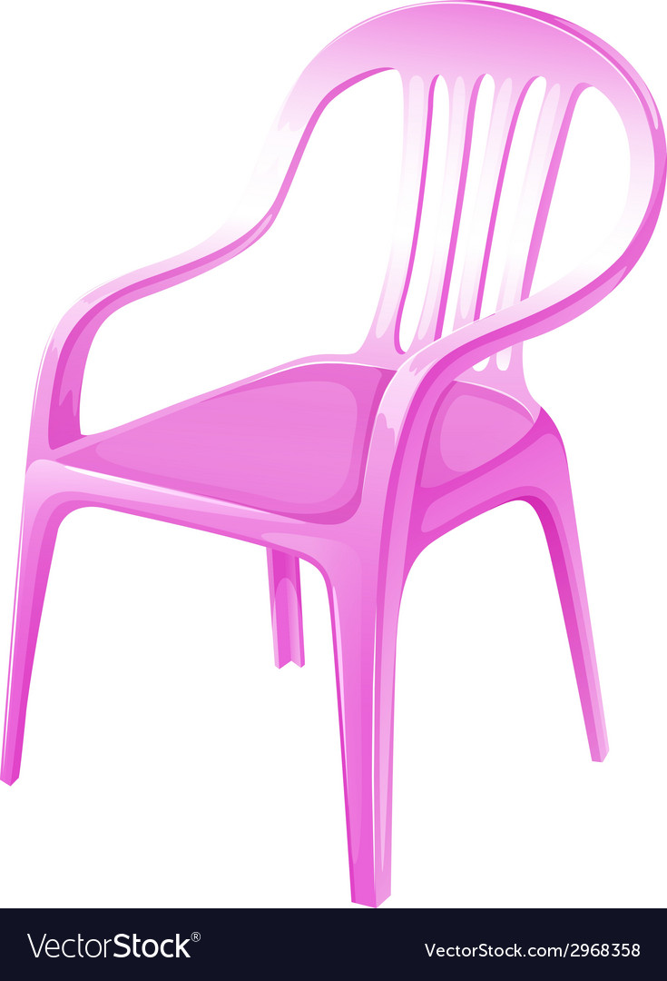 A pink chair furniture vector | Price: 1 Credit (USD $1)