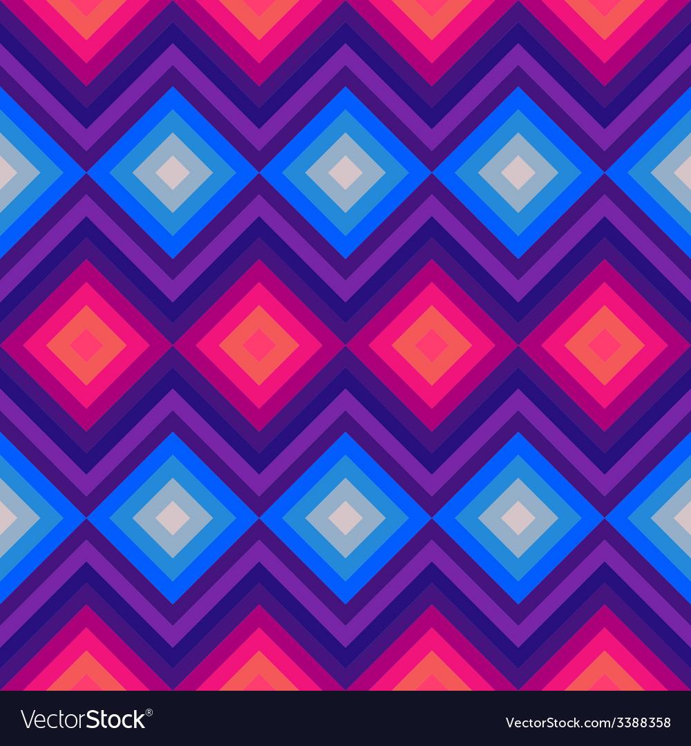 Modern crystal zig zag and rhombus seamless vector   Price: 1 Credit (USD $1)