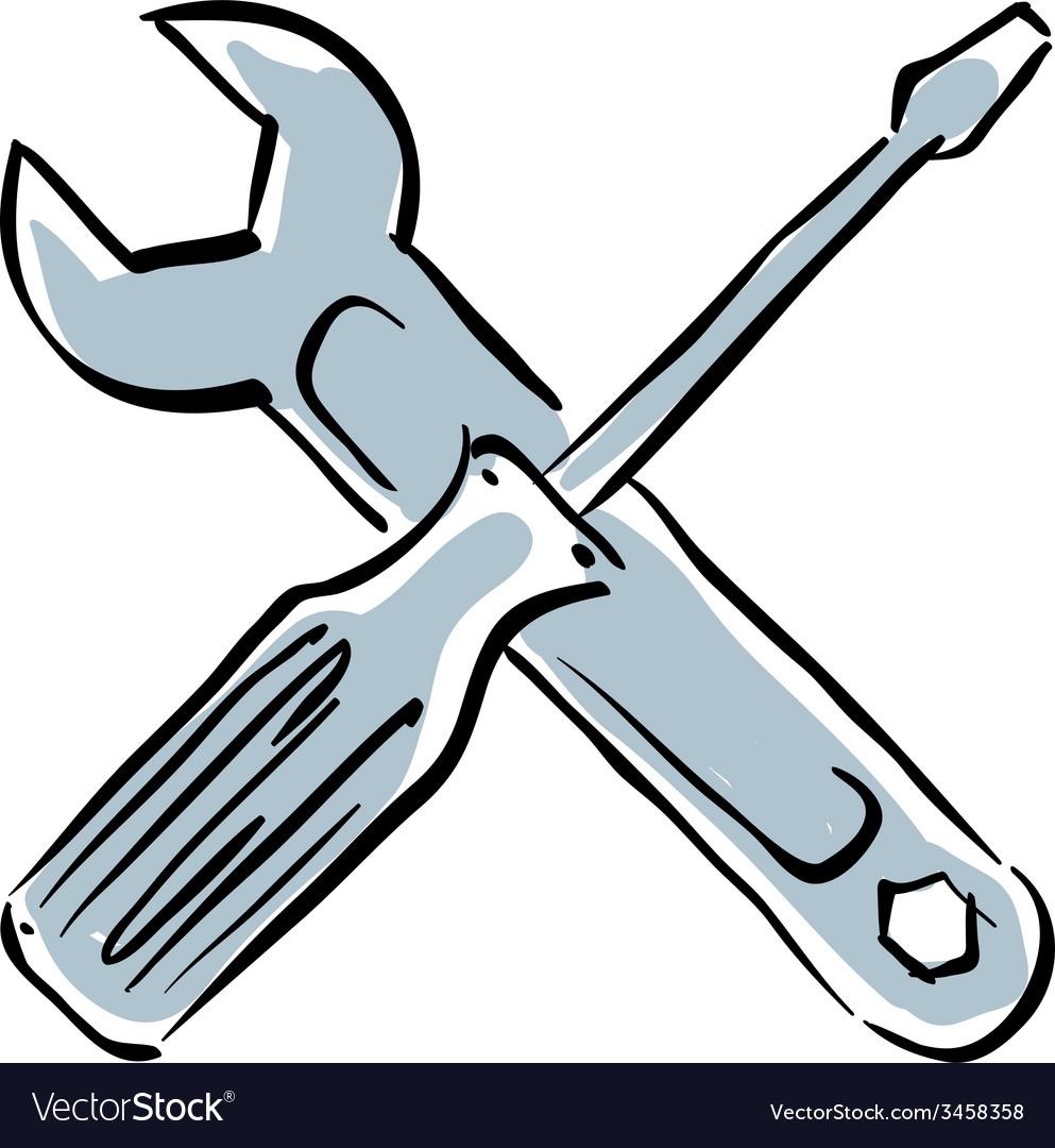 Repair icon instruments vector | Price: 1 Credit (USD $1)