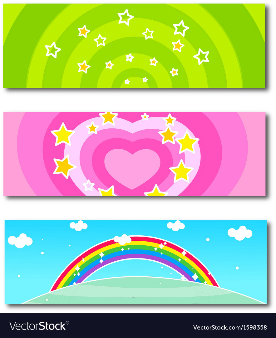 Spring banner vector | Price: 1 Credit (USD $1)