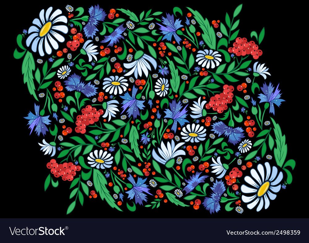 Abstract floral background vector   Price: 1 Credit (USD $1)