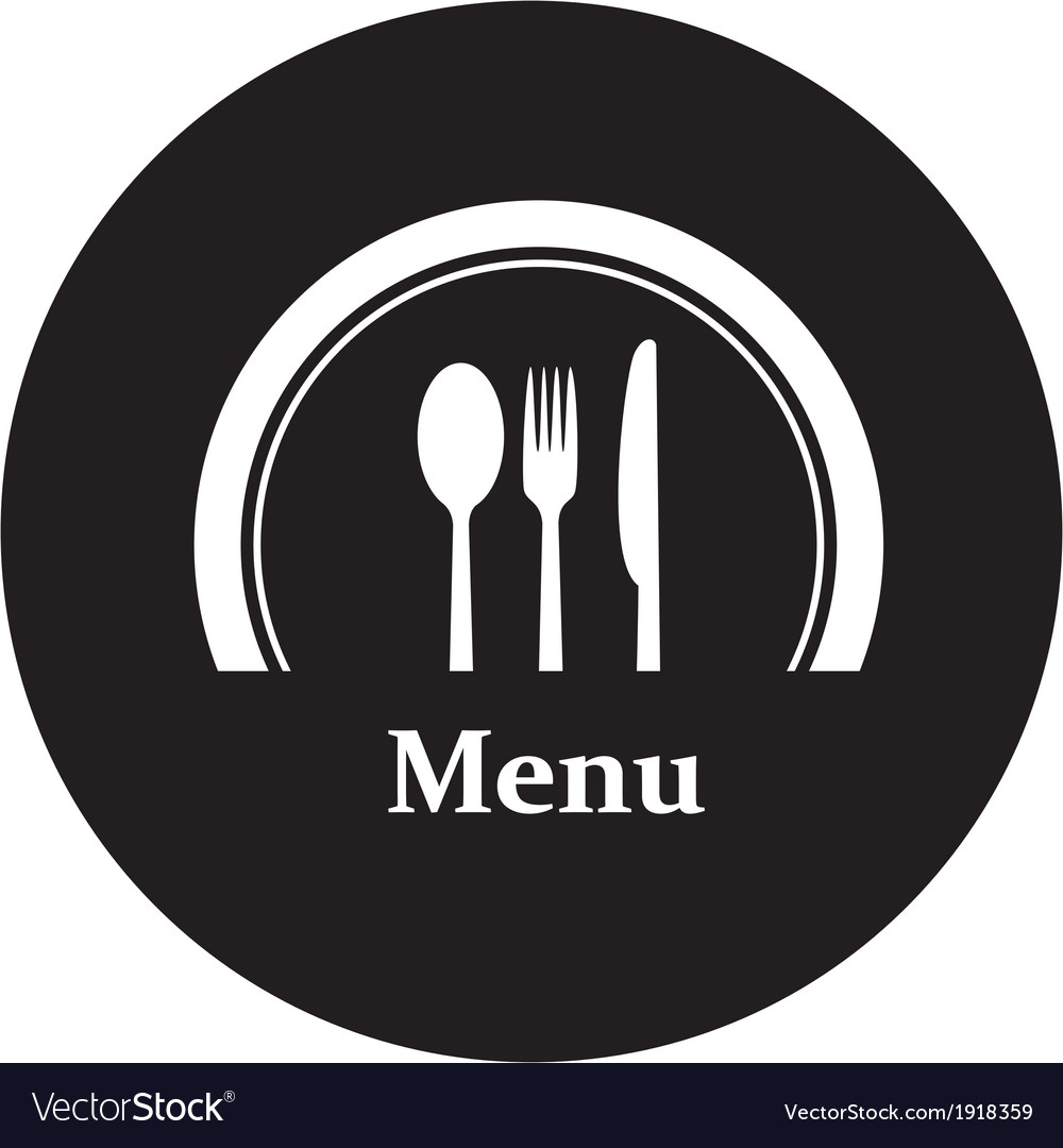 Restaurant menu retro poster vector | Price: 1 Credit (USD $1)