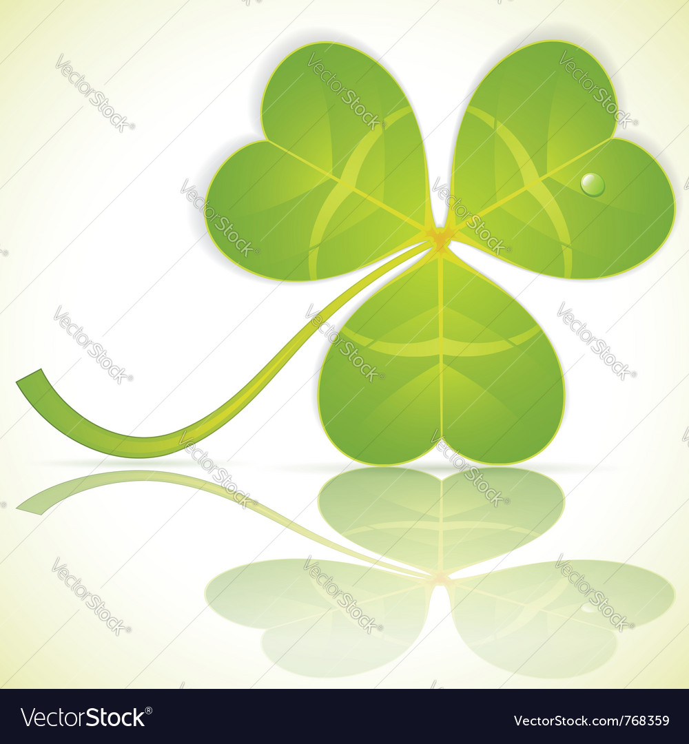 St patrick clover vector | Price: 1 Credit (USD $1)