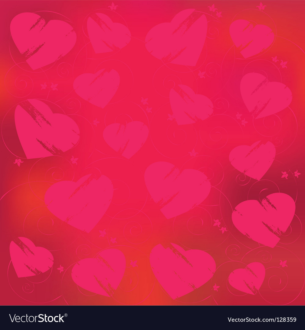 Valentines day abstract vector | Price: 1 Credit (USD $1)