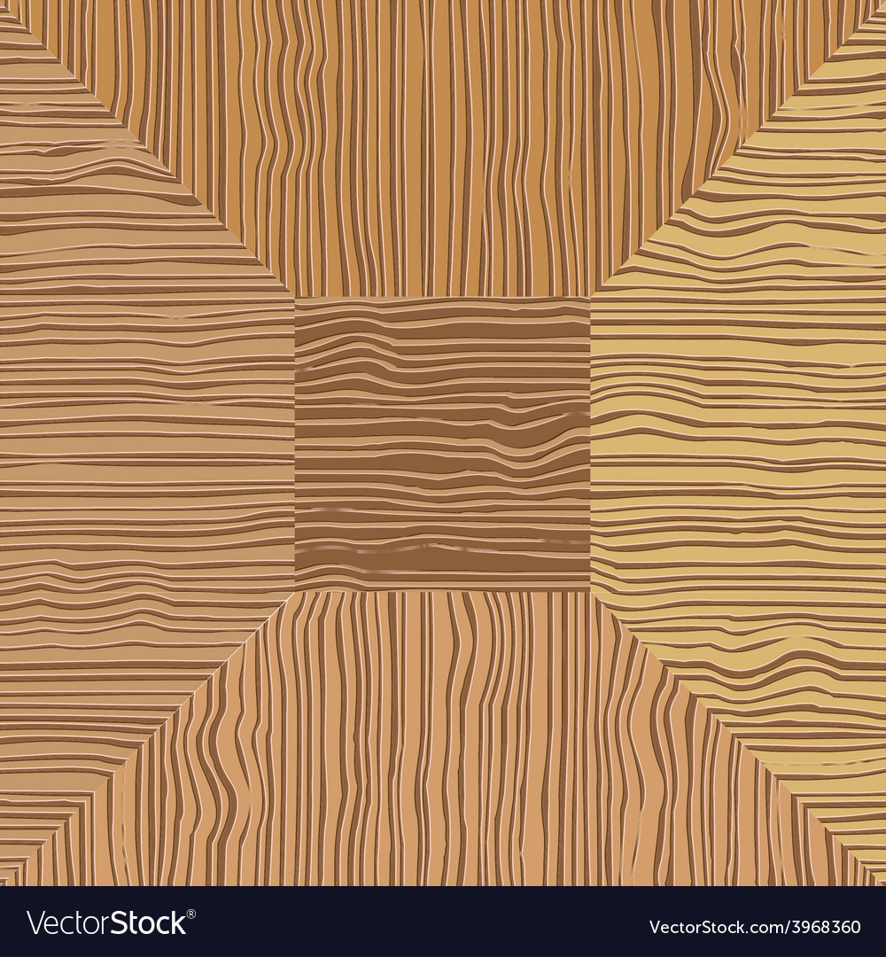 Brown wood mosaic the square geometric pattern vector | Price: 1 Credit (USD $1)