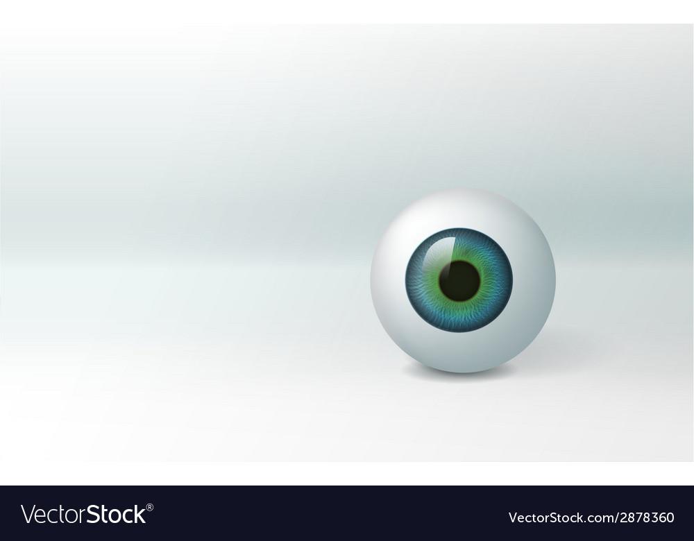 Eyeball vector | Price: 1 Credit (USD $1)