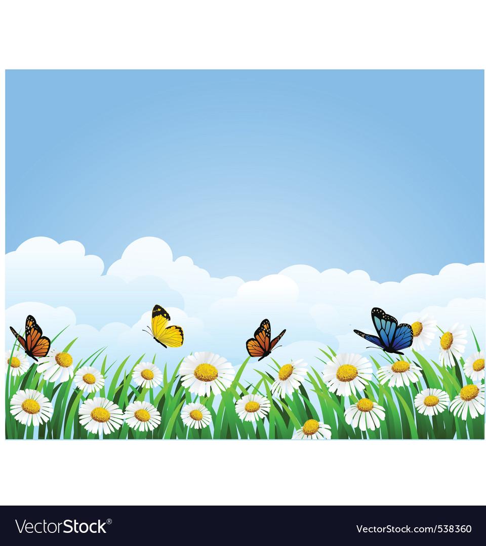 Flower background vector   Price: 1 Credit (USD $1)