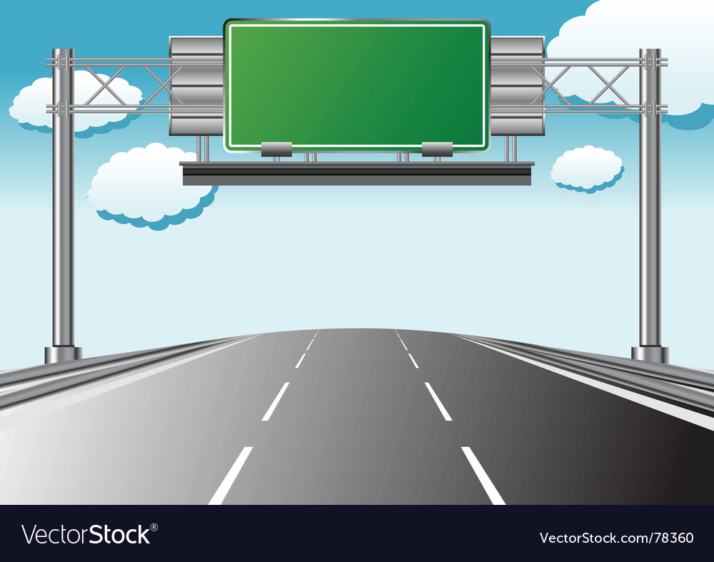 Highway information vector | Price: 1 Credit (USD $1)