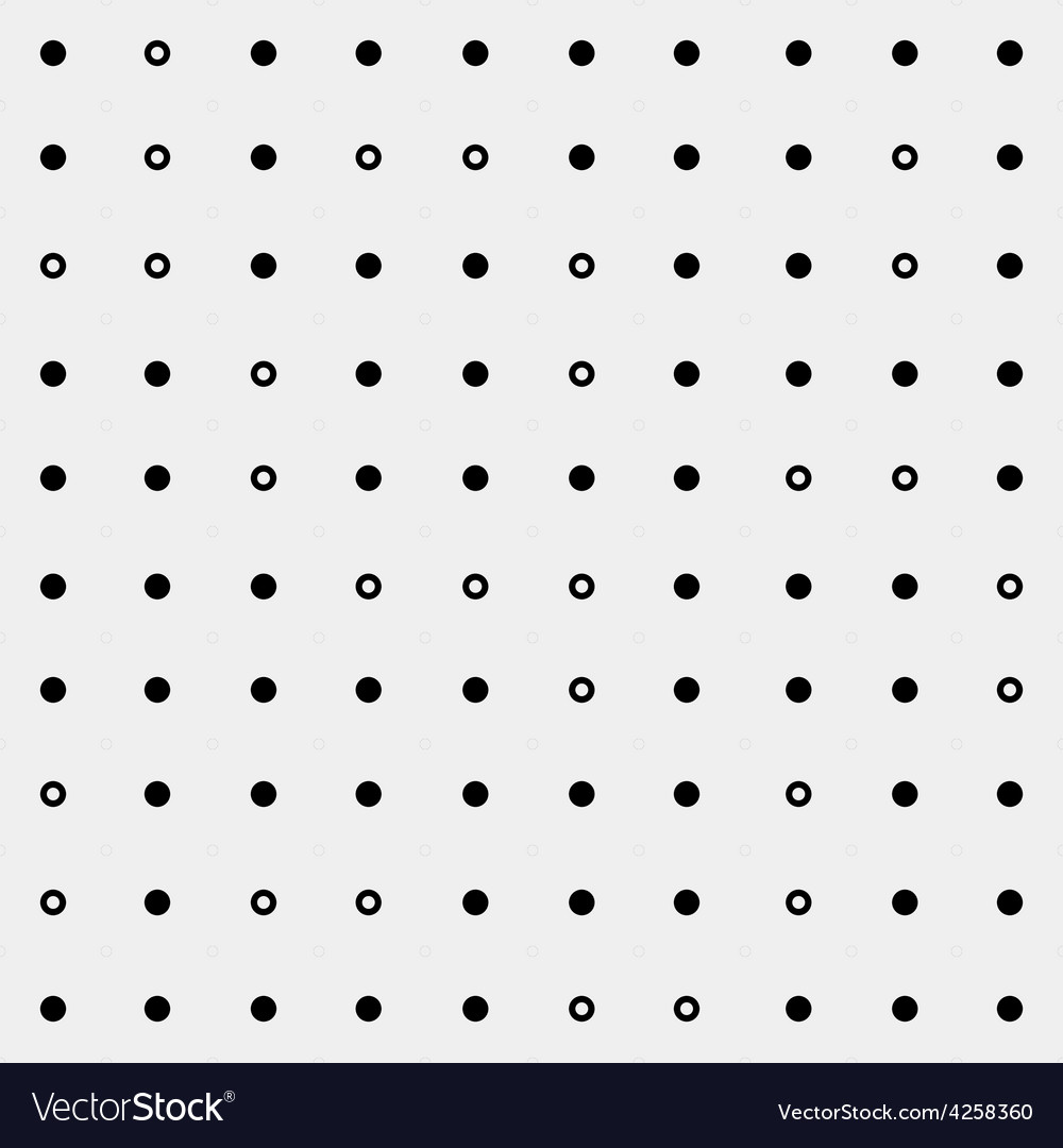 Seamless monochrome minimalistic pattern vector | Price: 1 Credit (USD $1)