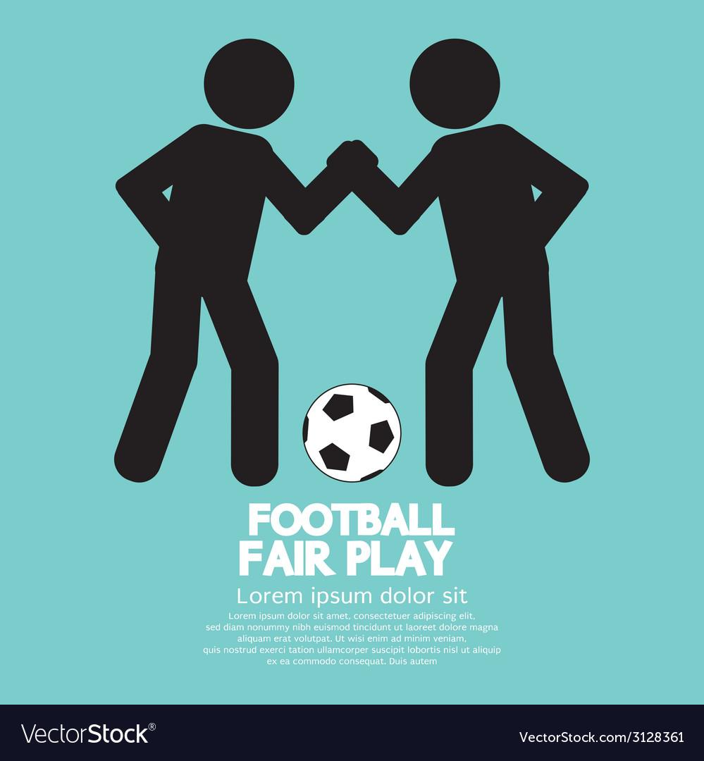 Fair play sport sign vector | Price: 1 Credit (USD $1)
