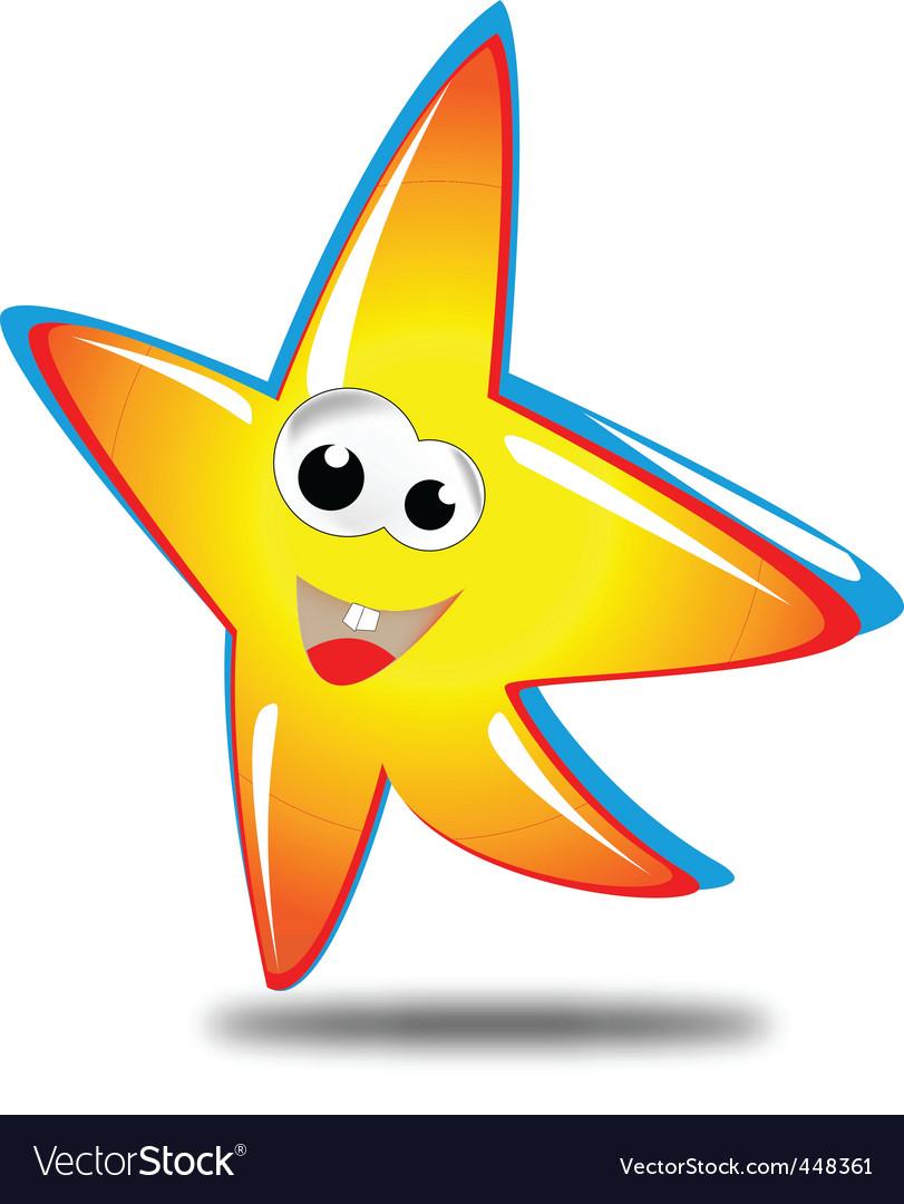 Star mascot vector | Price: 1 Credit (USD $1)