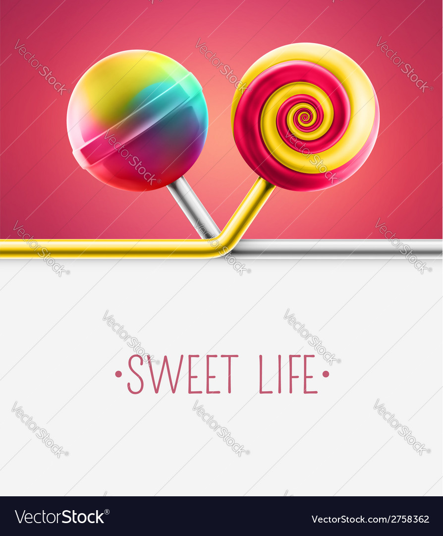 Sweet life vector | Price: 1 Credit (USD $1)
