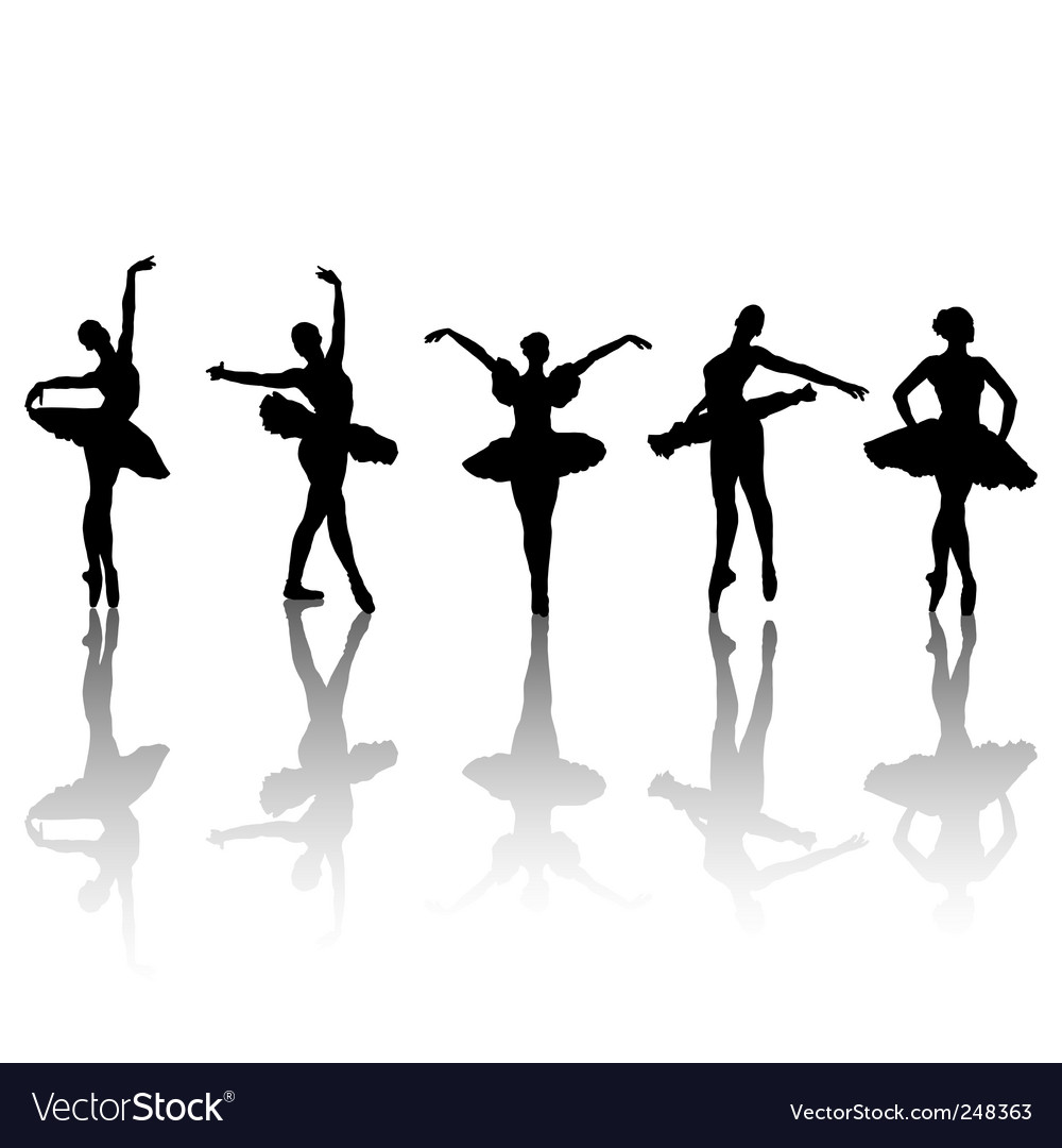 Ballet dancers vector | Price: 1 Credit (USD $1)
