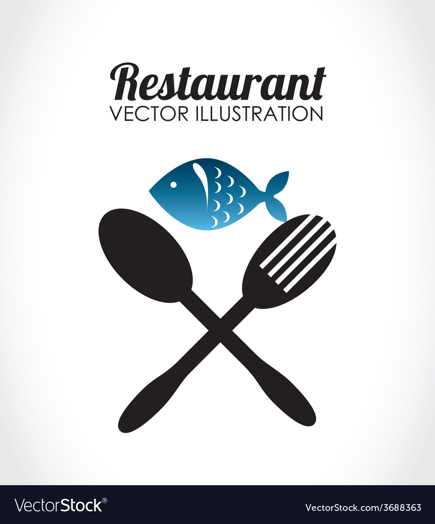 Food design over white background vector | Price: 1 Credit (USD $1)