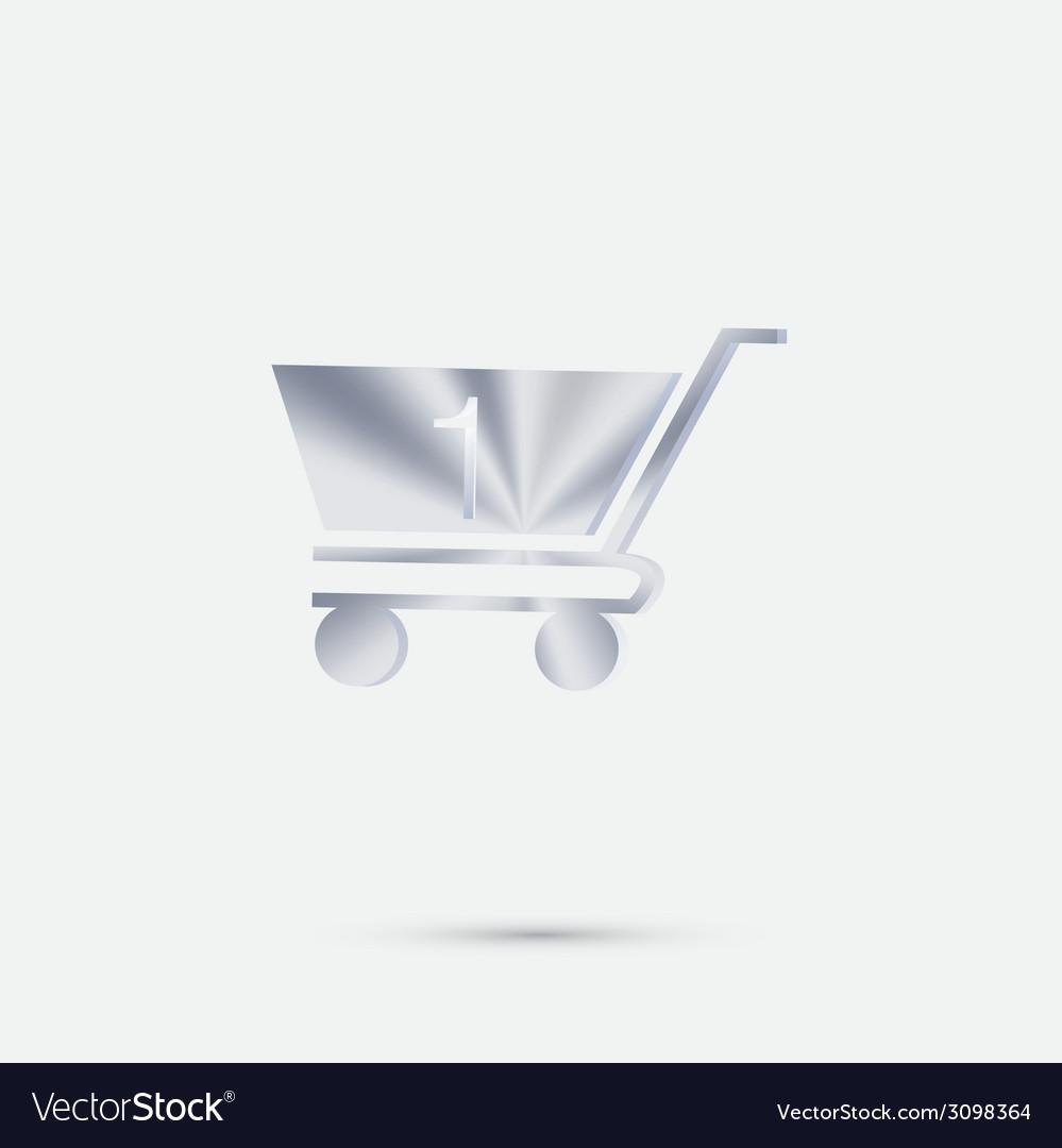Cart online store vector | Price: 1 Credit (USD $1)