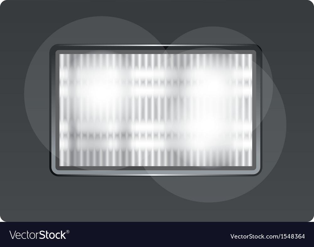 Flashlight vector | Price: 1 Credit (USD $1)