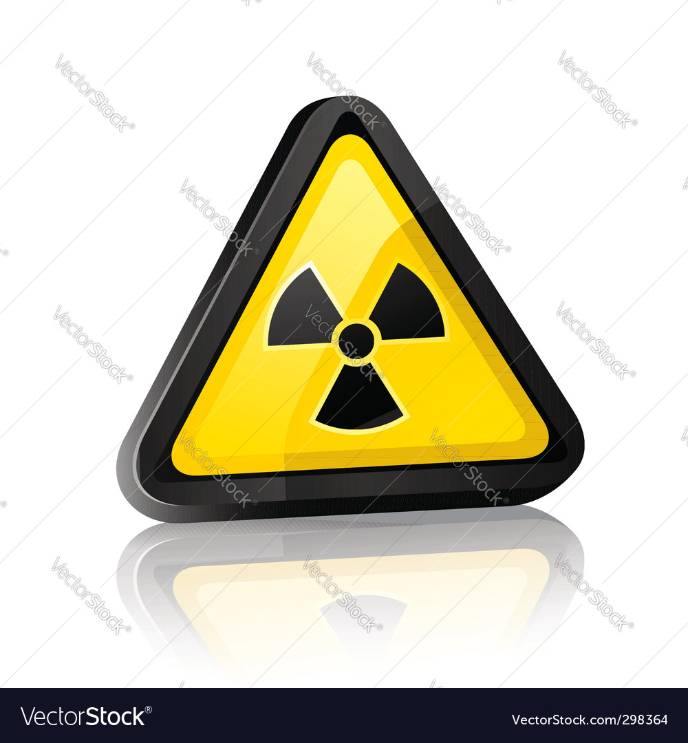 Hazard warning sign vector | Price: 1 Credit (USD $1)
