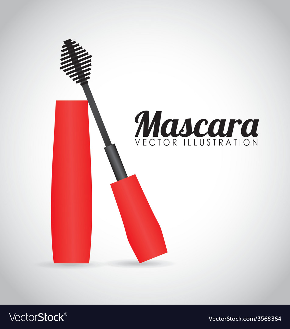 Mascara icon design vector | Price: 1 Credit (USD $1)