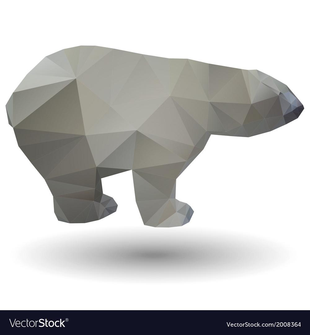 Polar bear icon vector | Price: 1 Credit (USD $1)