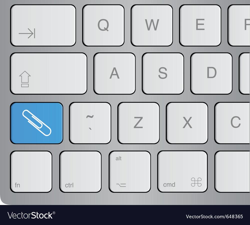 Attachment key vector | Price: 1 Credit (USD $1)