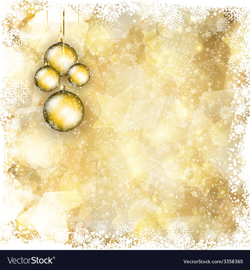 Christmas bauble background 1911 vector