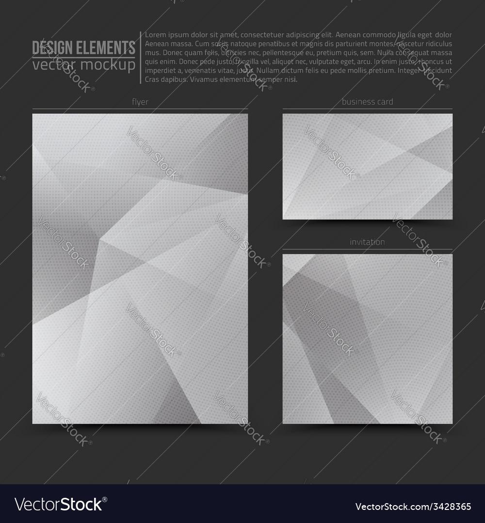 Design elements template vector   Price: 1 Credit (USD $1)